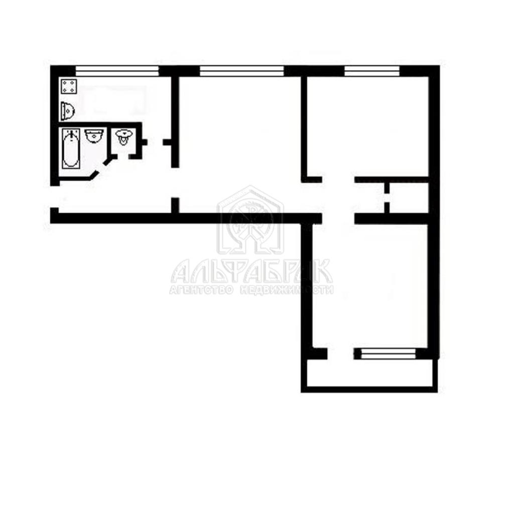 Планировки квартир в типовых домах.