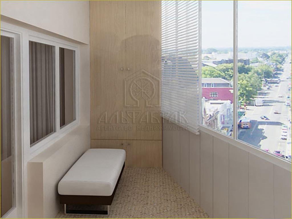Шафы для балкона і рознае шкленне лоджый.