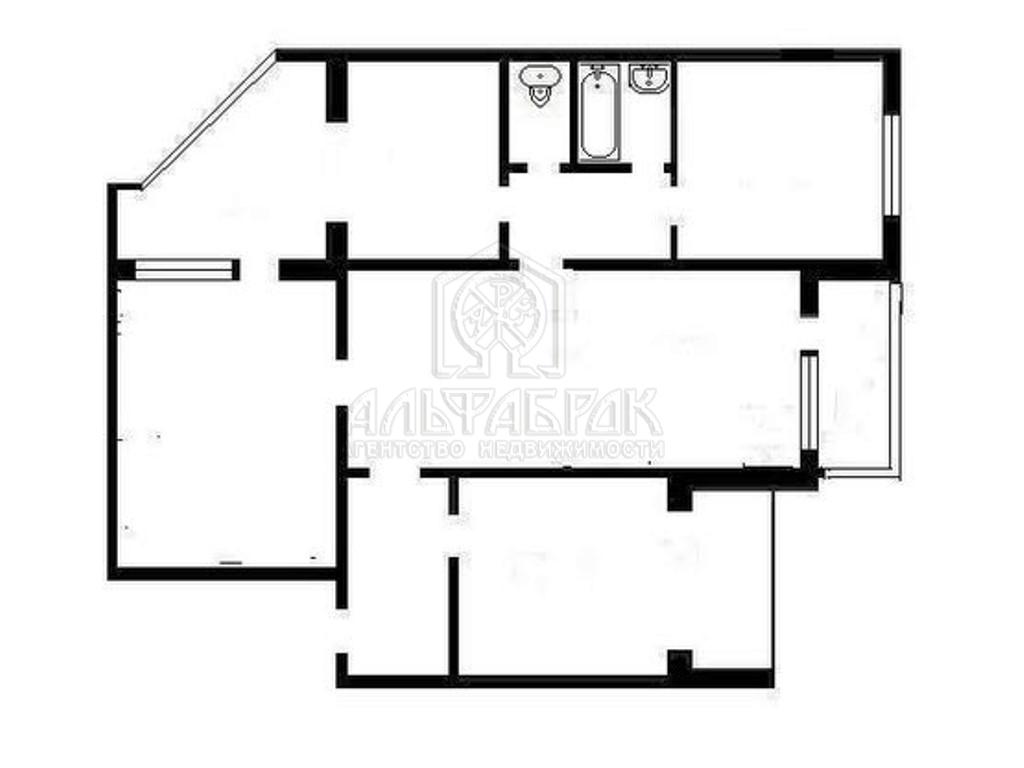 Типовой жилой дом серии аппс (к-134) планировки квартир, фот.
