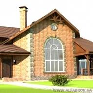 (код Н2479) Продам кирпичный Коттедж ( Дом ). Чайки 500кв.м. 20 соток Бассейн Сауна