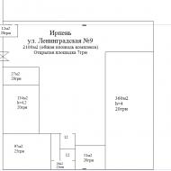н/ф 720 кв. м., Ирпень (Код C486)