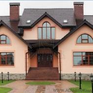 Продажа  дома  с  выходом на  канал  Днепра  в коттеджном  городке