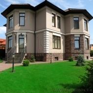 котедж, дом, дачу, Петропавловская Борщаговка, Центральная ул. (Код H417)