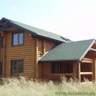 Продажа 2-х эт. деревянного дома. Участок 24 сотки. с.Дударков Бориспольский р-н.(Н5334)