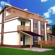 котедж, дом, дачу, Ирпень (Код H7138)