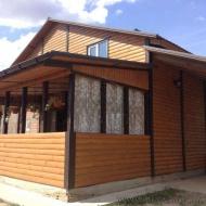 Продажа деревьяного современного дома в Пуховке