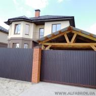 Продам новый двухэтажный дом под чистовую отделку в с. Гатное Киево-Святошинского района (Код H14615)