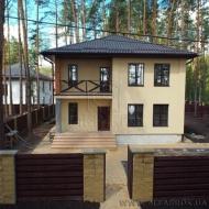 Продажа нового дома с соснами на участке площадью 160м2 в с.Белогородка К-Святошинского р-на (Код H16430)