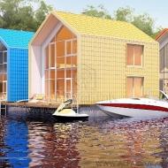 (Код H19480)НОВИНКА продажа плавучих домов Киев Днепровский район