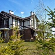 Продам коттедж, площадь 390 кв.м., участок 25 соток, Подгорцы, КГ 'Альпийка' (Код H19850)